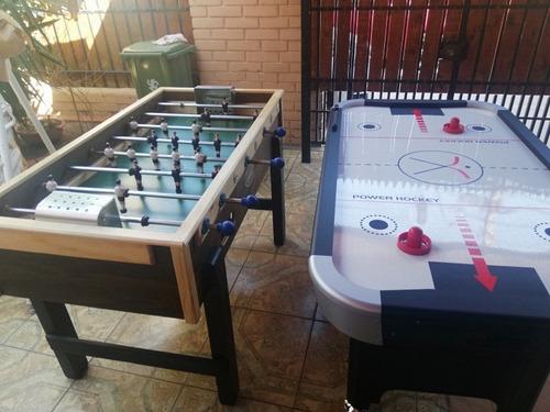 arriendo taca taca y mesa air hockey