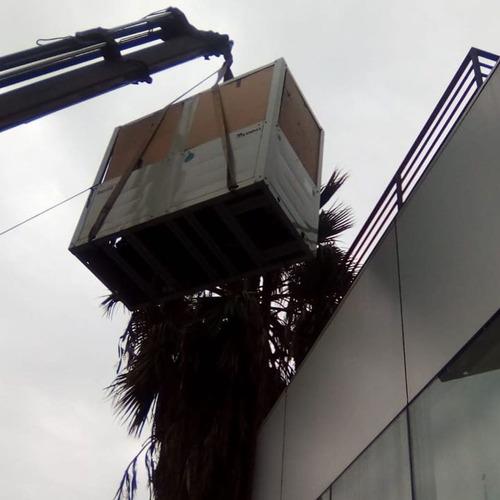 arrindo camión grua pluma