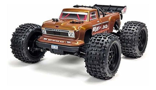 arrma 1 10 outcast 4x4 4s blx brushless 4wd rc stunt truck ®