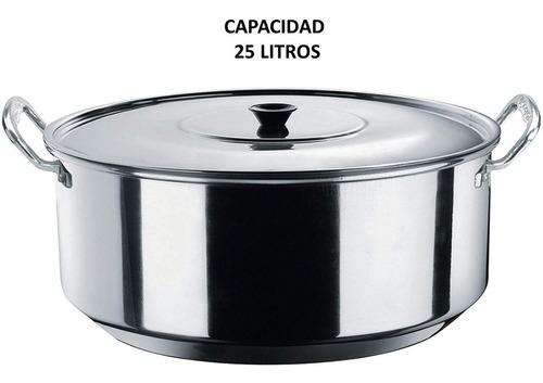 arrocera vasconia 45 cm doble 25 litros fuerte incluye envío