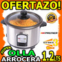 Wow Olla Arrocera 1.2lts Premier Acero Inoxidable 400w Unica