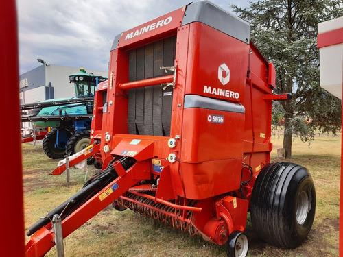 arrolladora mainero 5876 2017 recolector extendido impecable