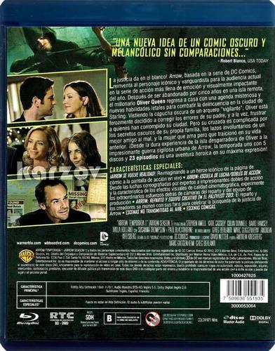 arrow dc primera temporada 1 uno blu-ray