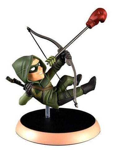 arrow q-fig mini estatua - qmx - robot negro