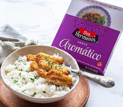 arroz aromático dos hermanos 10 unidades x 500gr sin tacc