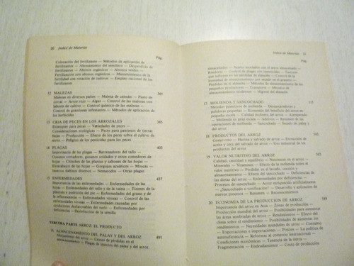 arroz. d. h. grist. cecsa. 1a ed. 1982. méxic