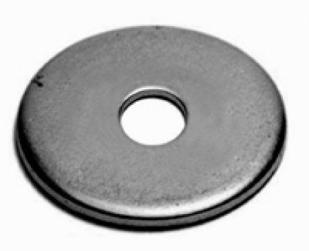 arruela de funileiro aba larga inox 5/8 - 50 peças