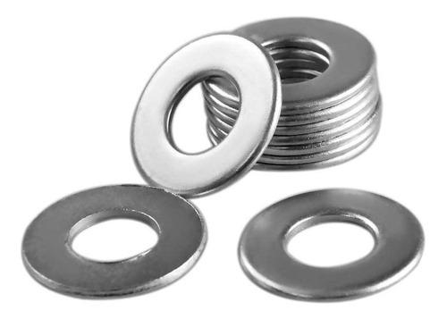 arruela lisa zincada 5/16 kg +-330 peças lg steel