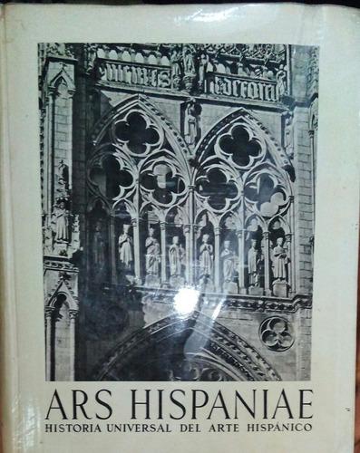 ars hispaniae, arquitectura gotica