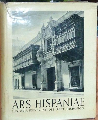ars hispaniae, arte en america y filipinas