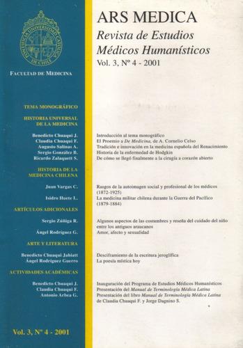 ars médica revista de estudios médicos humanísticos v. 3 n 4