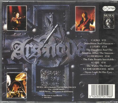 ars nova the goddess of darkness 96 cd(lacrado)(france)imp**