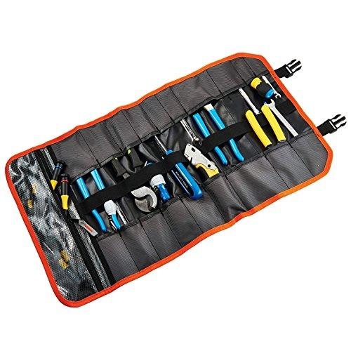 0ebdcdd01 Arsenal 5871 Tool Rollup Bolsa 21 Bolsillos Poliéster Negro ...