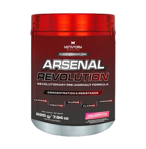 arsenal revolution 225g pré treino pink lemonade - metaform