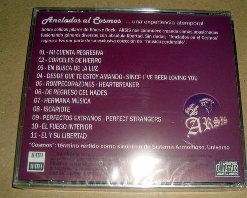 arsis anclados al cosmos cd sellado