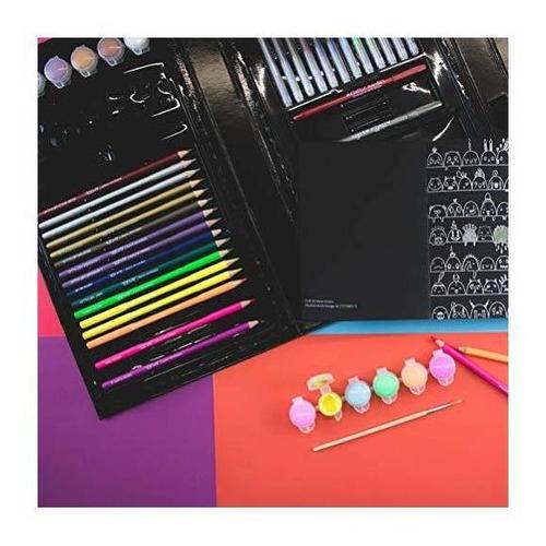 art 101 usa 55063 68 piezas de arte neón brights, multicolor