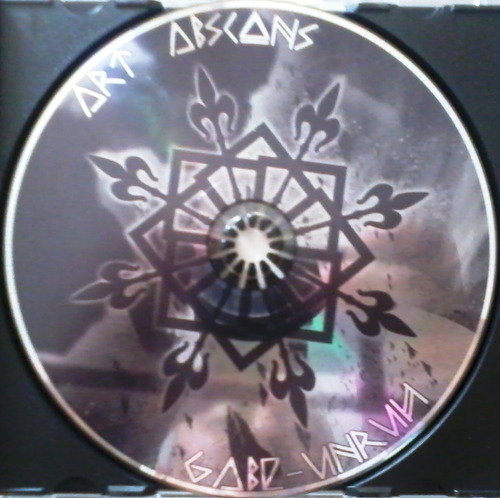 art abscons & gabe unruh - split cd 1er ed dark ambient folk