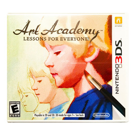Art Academy Lessons For Everyone Nuevo - Nintendo 2ds & 3ds