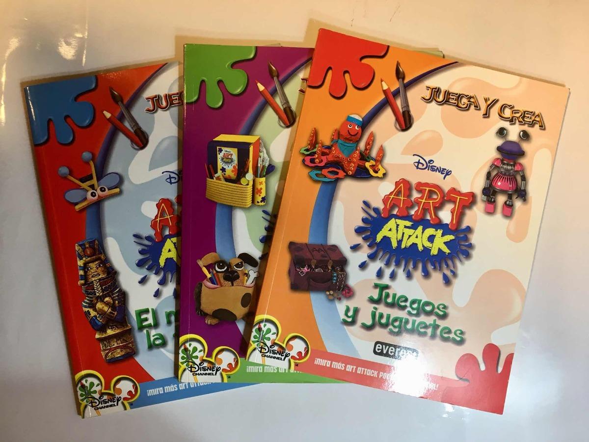 Art Attack Libros De Manualidades Set De 3 600 00 En Mercado