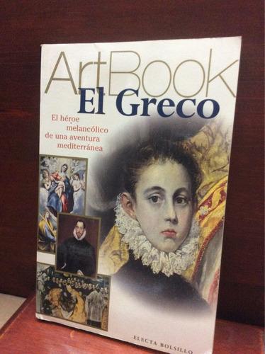 art book el greco, el héroe melancólico de una aventura medi
