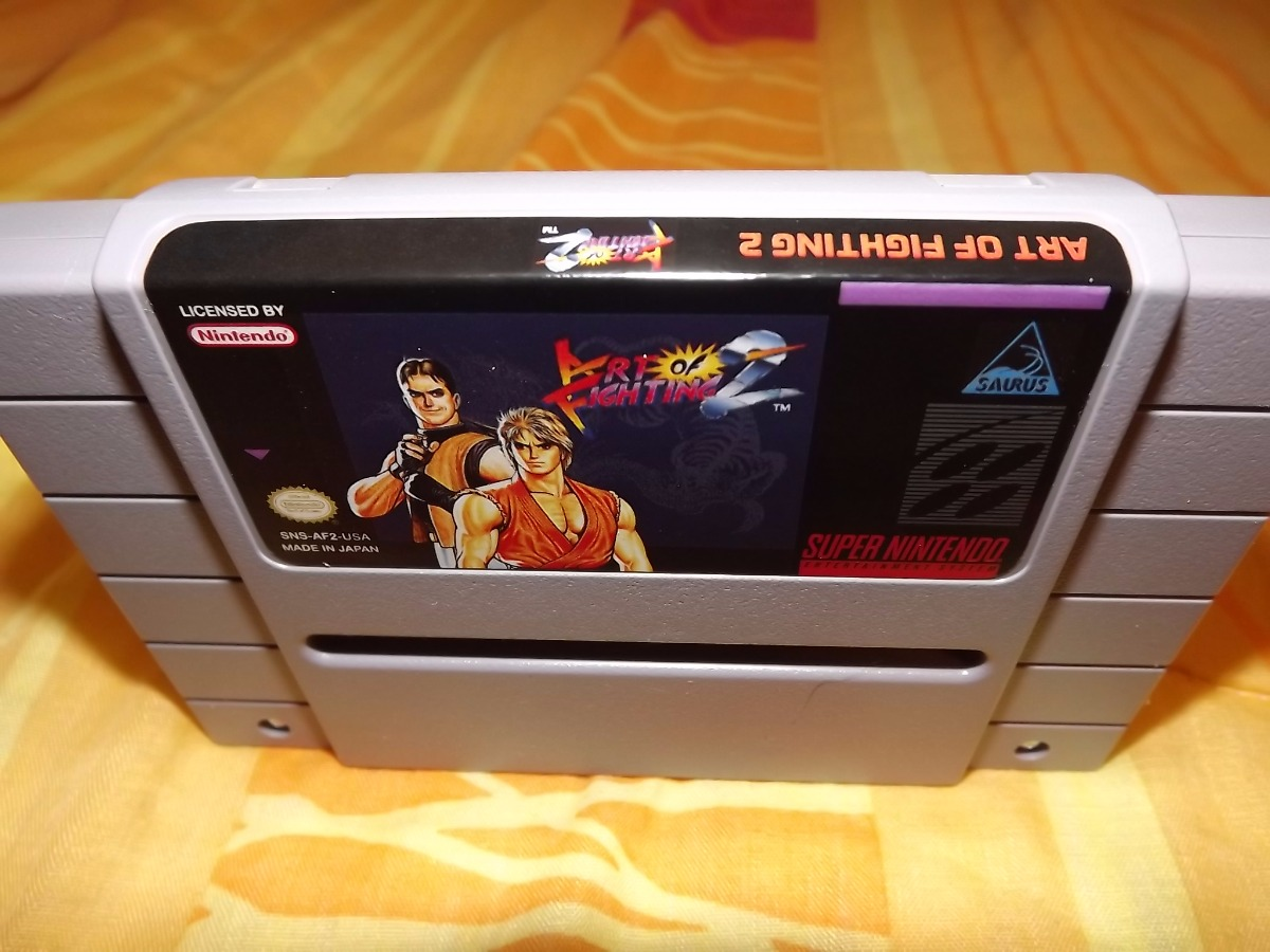 Art Of Fighting 2 Japones Reprogp Super Nintendo Snes 17 000