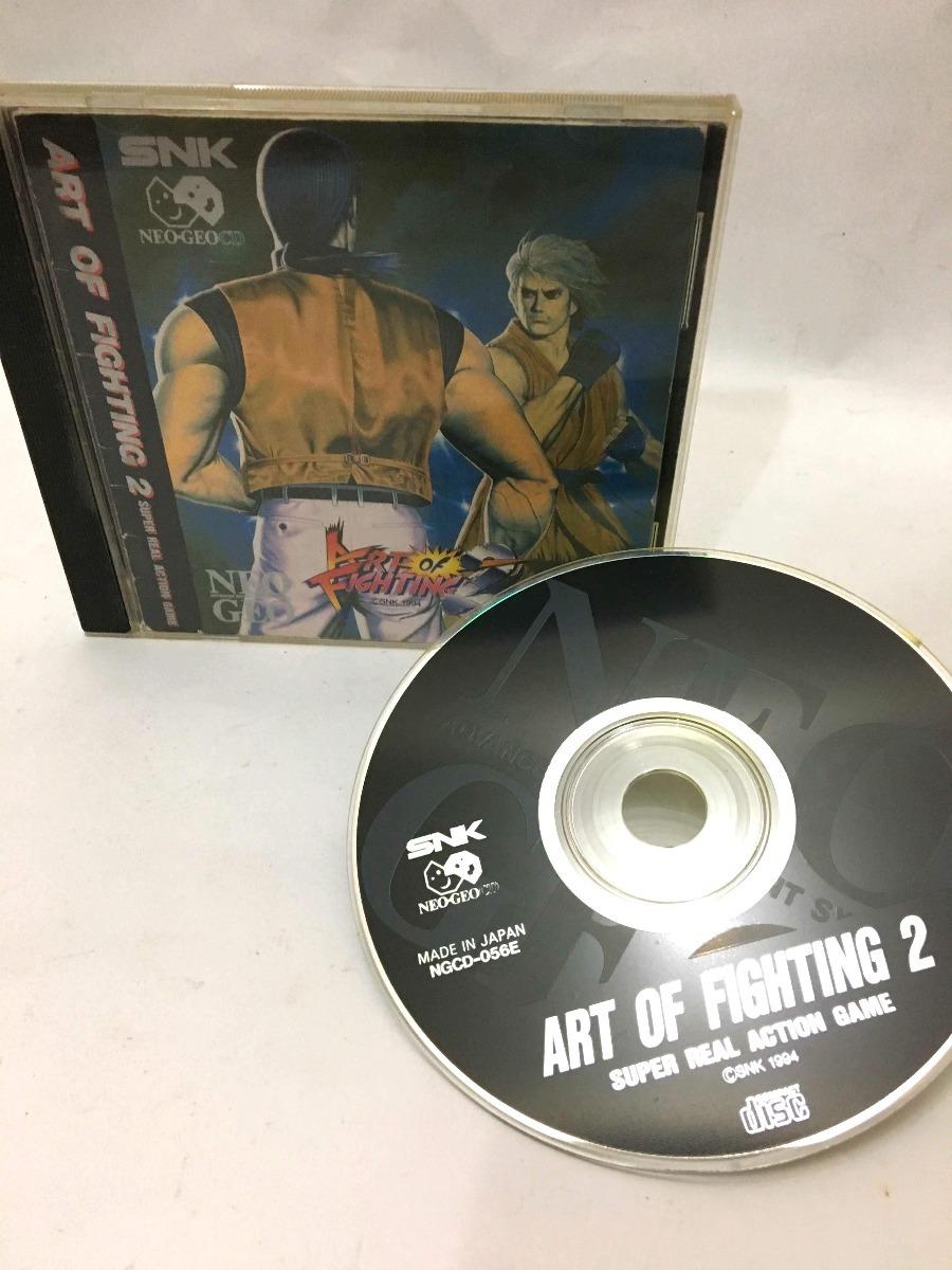 art of fighting neo geo cd