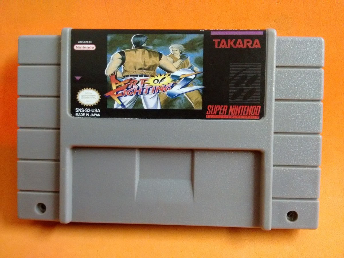 Art Of Fighting 2 Super Nintendo Snes R 65 00 Em Mercado Livre