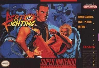 art of fighting /  super nintendo  snes
