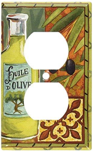 art plates - placa de interruptor de aceite de oliva - cubie