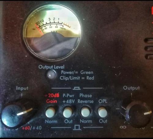 art preamplificador valvular para micrófono e instrumento