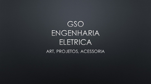 art, projetos de entrada de energia, laudos tecnico