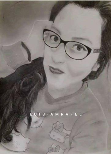 art-rafel retratos a lápiz realistas