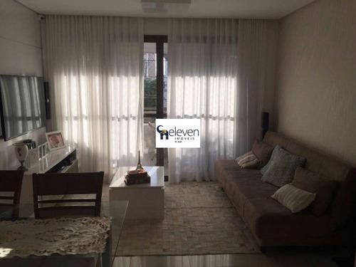 art ville, 3/4 totais 3 dormitórios, 2 banheiros, 1 suite, área de serviço, varanda e 1 garagem. lindo apartamento todo decorado.  r$ 546.000,00, condomínio: r$ 550 iptu: r$ 1500 - ap00535 - 32260499