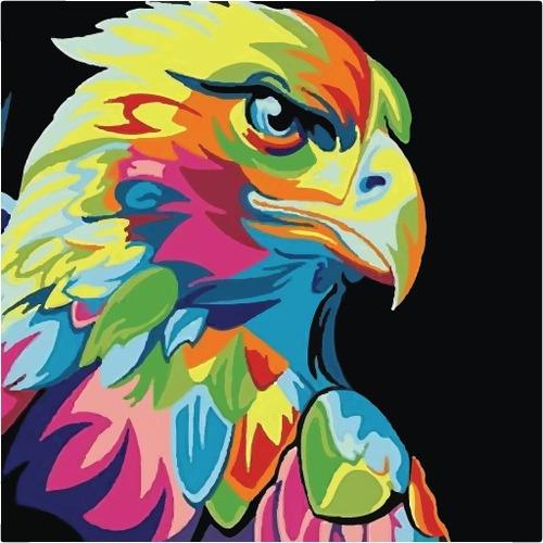 artbox águila - kit de pintura - by la roulette