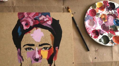 artbox frida - kit de pintura - by la roulette