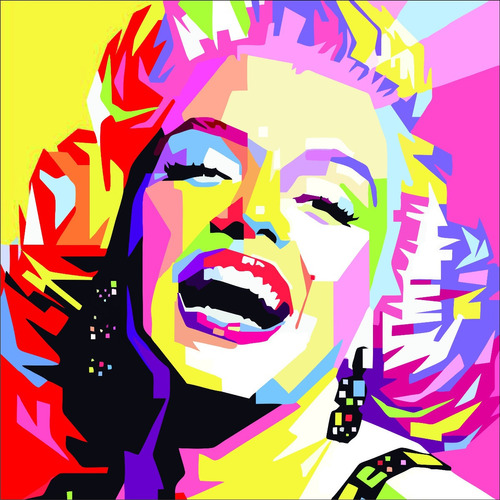 artbox marilyn - kit de pintura - by la roulette