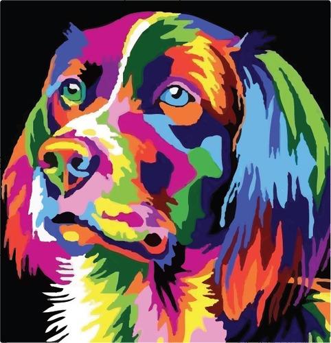 artbox perro - kit de pintura - by la roulette