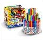 Lapices De Colores Crayola - Set 50 Colores En Torre