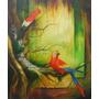 Cuadro Pintura Al Oleo 50 X 60 Amazonico