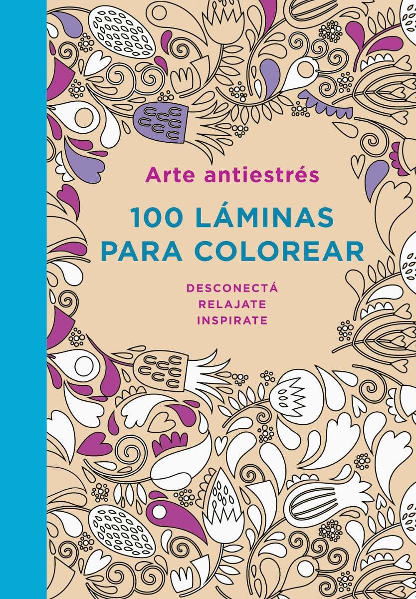 Arte Antiestrés 100 Láminas Para Colorear - Plaza & Janes - $ 399,00 ...