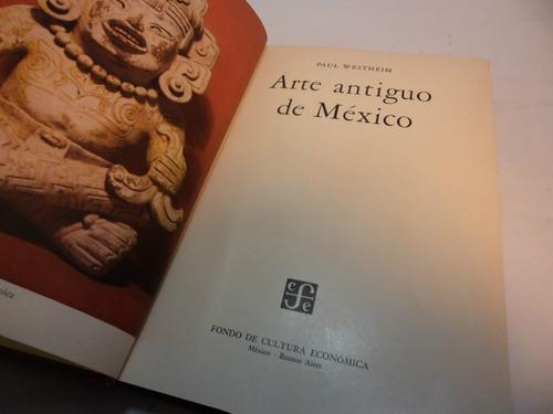 arte antiguo de mexico, paul westheim.