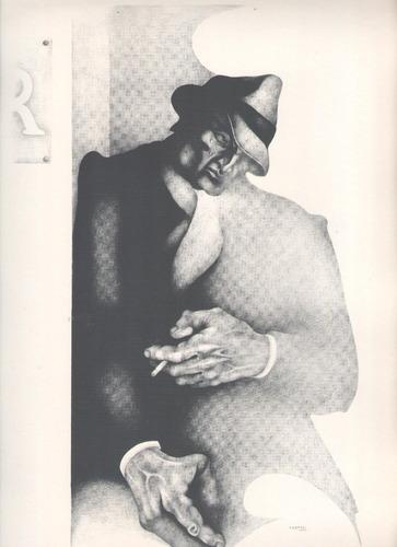 arte argentino : carpani, ricardo - ivette 35x25 cm