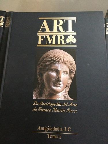 arte: art fmr - enciclopedia- franco maria ricci - 15 tomos