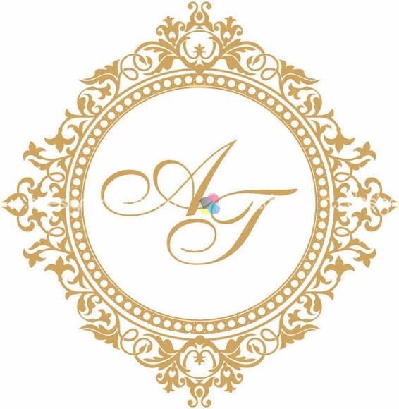Arte casamento monograma bras o envio gratis r 17 90 em for Monogram homes floor plans