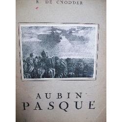 arte: catalogo firmado. aubin pasque r. de cnodder