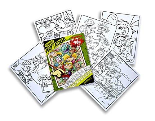 Arte De Crayola Con Edge Dibujos Para Colorear Nickelodeon ...