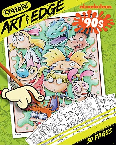 Arte De Crayola Con Edge Dibujos Para Colorear Nickelodeon