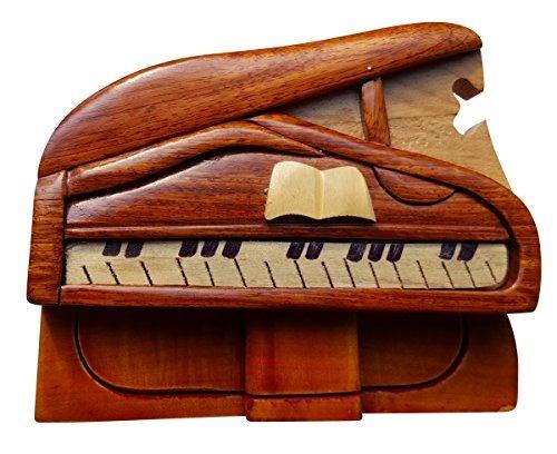 arte de madera hecho a mano truco secreto piano puzzle barat