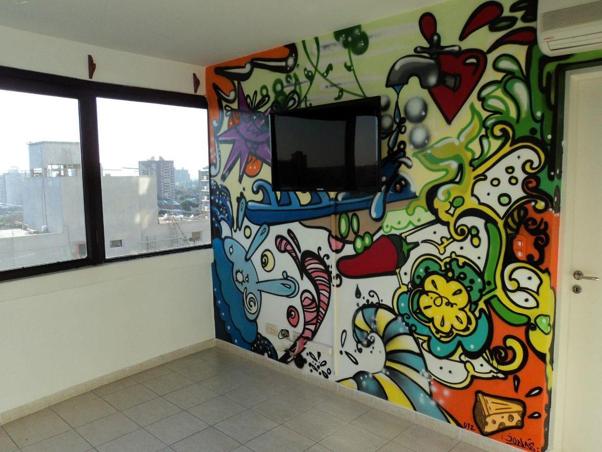 Arte Decoracion Murales Graffiti Cuadros Letrista Logos - $ 32,00 en ...