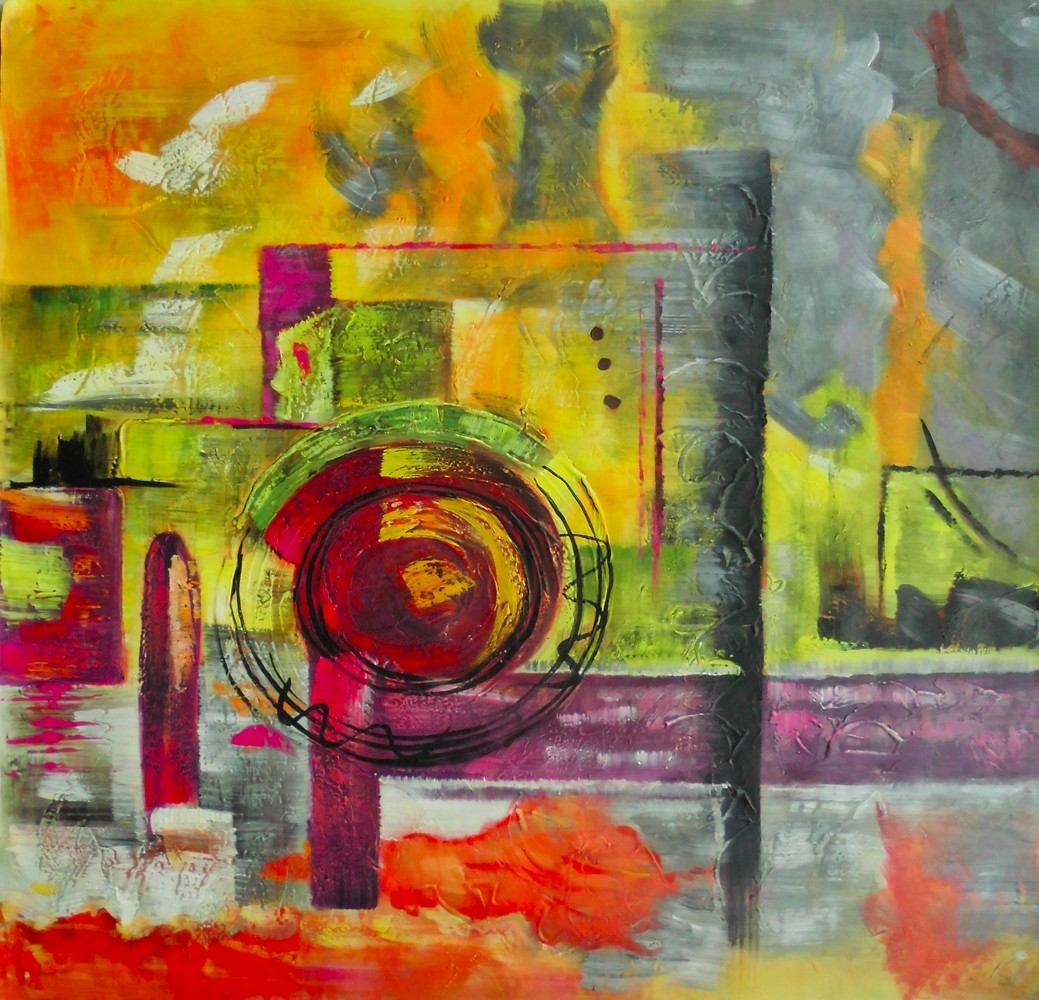 Arte decorativo. Arte-decorativo-al-oleo-tema-abstracto-D_NQ_NP_103321-MLM20746652895_062016-F